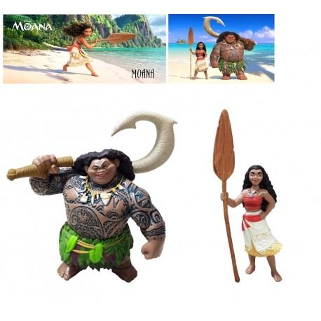 Vaiana y Maui