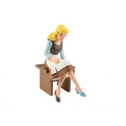 c sentada pobre