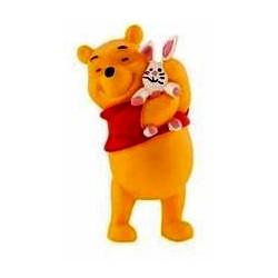 Winnie The Pooh - Winnie con conejo
